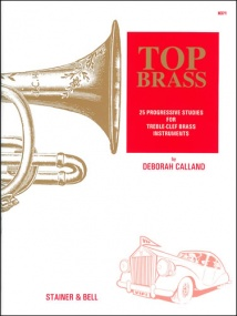Calland: Top Brass for Treble Clef Brass published by Stainer and Bell