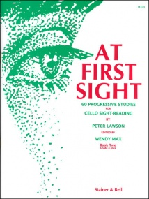 At First Sight Book 2 for Cello published by Stainer & Bell