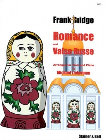 Bridge: Romance and Valse Russe for Viola published by Stainer & Bell