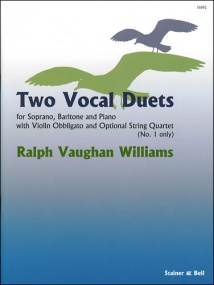 Vaughan Williams: Two Vocal Duets published by Stainer and Bell