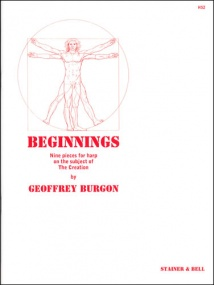 Burgon: Beginnings for Harp published by Stainer and Bell