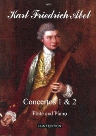 Abel: Concertos 1 and 2 Op.6 for Flute published by Hunt