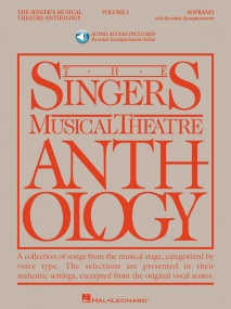 Singers Musical Theatre Anthology 1 Soprano Book & CD published by Hal Leonard