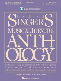 Singers Musical Theatre Anthology 3 Soprano Book & Online Audio published by Hal Leonard