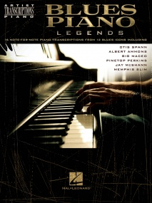 Blues Piano Legends published by Hal Leonard