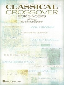 Classical Crossover For Singers published by Hal Leonard