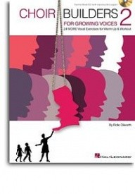 Choir Builders For Growing Voices - 2 published by Hal Leonard