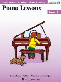 Hal Leonard Student Piano Library: Lessons 2 Book & Online Audio