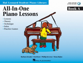 Hal Leonard All-In-One Piano Lessons: A Book & CD