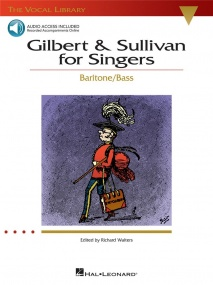 Gilbert And Sullivan For Singers - Baritone/Bass Book & CD published by Hal Leonard