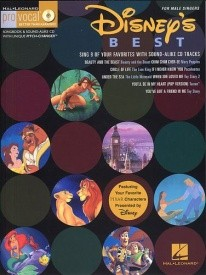 Disney's Best - Men's Edition Book & CD published by Hal Leonard