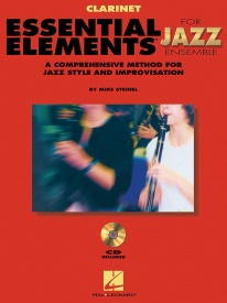 Essential Elements Jazz Ensemble Book & CD for Clarinet published by Hal Leonard