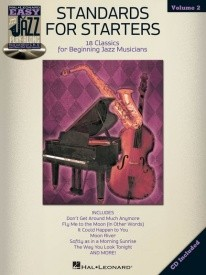 Easy Jazz Play-Along Volume 2: Standards For Starters published by Hal Leonard