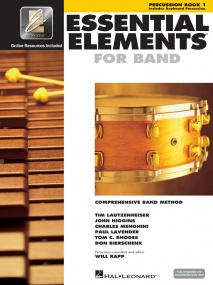 Essential Elements for Band - Book 1 with EEi for Percussion published by Hal Leonard