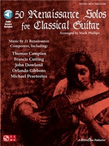 50 Renaissance Solos For Classical Guitar (Book/Online Audio) published by Cherry Lane