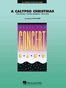 A Calypso Christmas for Concert Band published by Hal Leonard - Set (Score & Parts)
