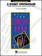 A Disney Spectacular for Concert Band published by Hal Leonard - Set (Score & Parts)