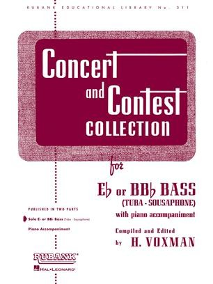 Concert and Contest Collection for Tuba  published by Rubank