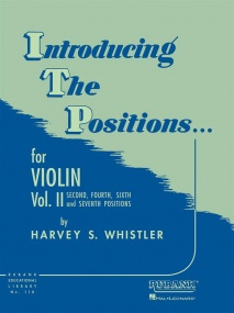 Introducing the Positions Volume 2 for Violin published by Rubank