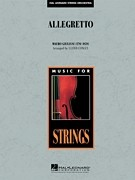 Allegretto for String Orchestra published by Hal Leonard - Set (Score & Parts)