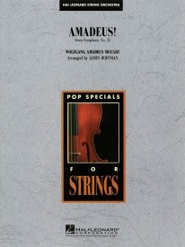 Amadeus! for String Orchestra published by Hal Leonard - Set (Score & Parts)