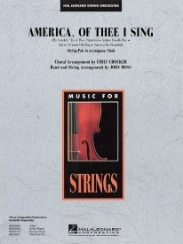 America, of Thee I Sing for String Orchestra published by Hal Leonard - Set (Score & Parts)