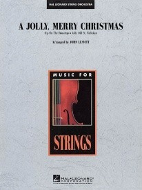 A Jolly, Merry Christmas for Orchestra published by Hal Leonard - Set (Score & Parts)