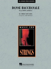 Danse Bacchanale (from Samson and Delila) for String Orchestra published by Hal Leonard - Set (Score & Parts)