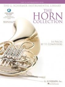 The Horn Collection - Easy/Intermediate Book & CD published by Hal Leonard
