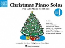 Hal Leonard Student Piano Library: Christmas Piano Solos Level 1