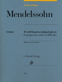 At The Piano - Mendelssohn published by Henle