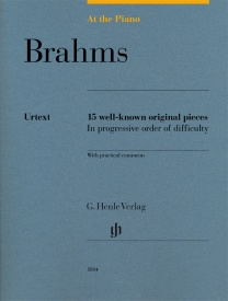 At The Piano - Brahms published by Henle