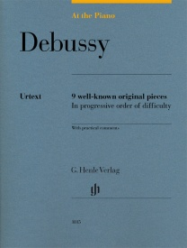 At The Piano - Debussy published by Henle