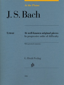At The Piano - J. S. Bach published by Henle