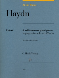 At The Piano - Haydn published by Henle