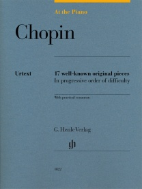 At The Piano - Chopin published by Henle