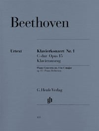 Beethoven: Piano Concerto No.1 in C Major Opus 15 published by Henle