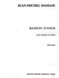 Bassoon Junior by Damase published by Lemoine