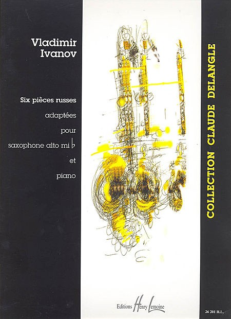 6 Pieces Russes Volume 1 for Alto Saxophone published by Lemoine