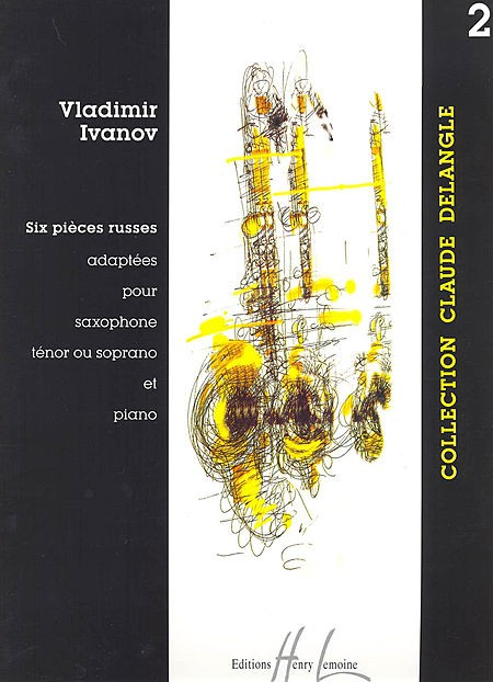 6 Pieces Russes Volume 2 for Tenor Saxophone published by Lemoine