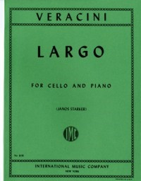 Veracini: Largo for Cello published by IMC