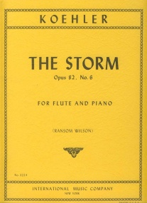 Kohler: The Storm for Flute published by IMC
