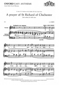 White: A Prayer of St Richard of Chichester SS published by OUP