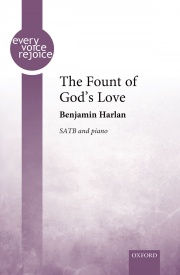 The Fount of God's Love SATB by Harlan published by OUP