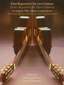 First Repertoire For Two Guitars published by Faber