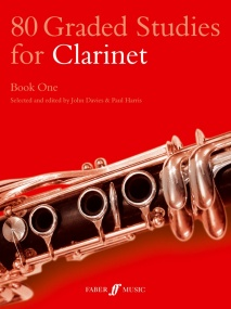 80 Graded Studies for Clarinet Book 1 published by Faber
