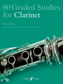 80 Graded Studies for Clarinet Book 2 published by Faber