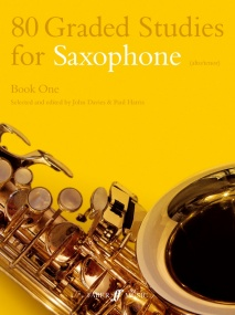 80 Graded Studies for Saxophone Book 1 published by Faber