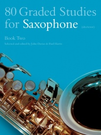 80 Graded Studies for Saxophone Book 2 published by Faber
