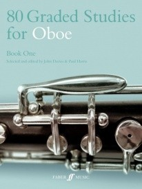 80 Graded Studies Book 1 for Oboe published by Faber